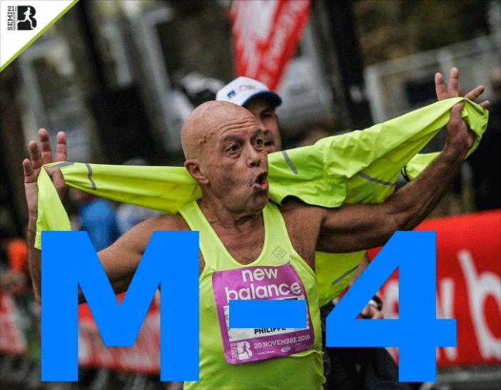 Philippe Derouin - Semi marathon de Boulogne novembre 2016
