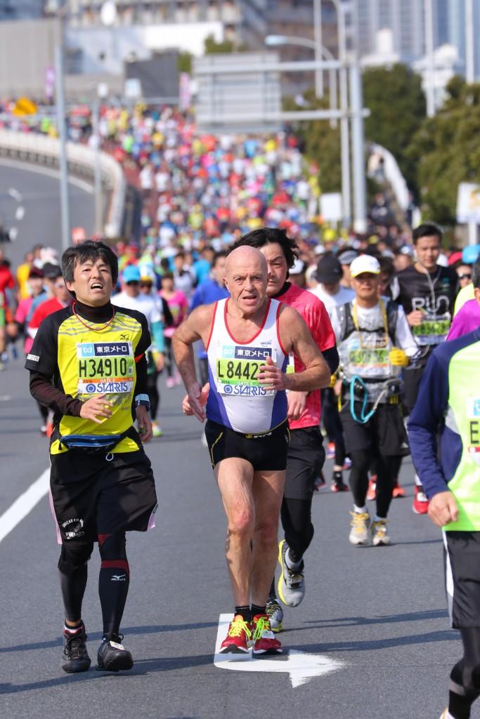 Philippe Derouin - Marathon de Tokyo 28 février 2016
